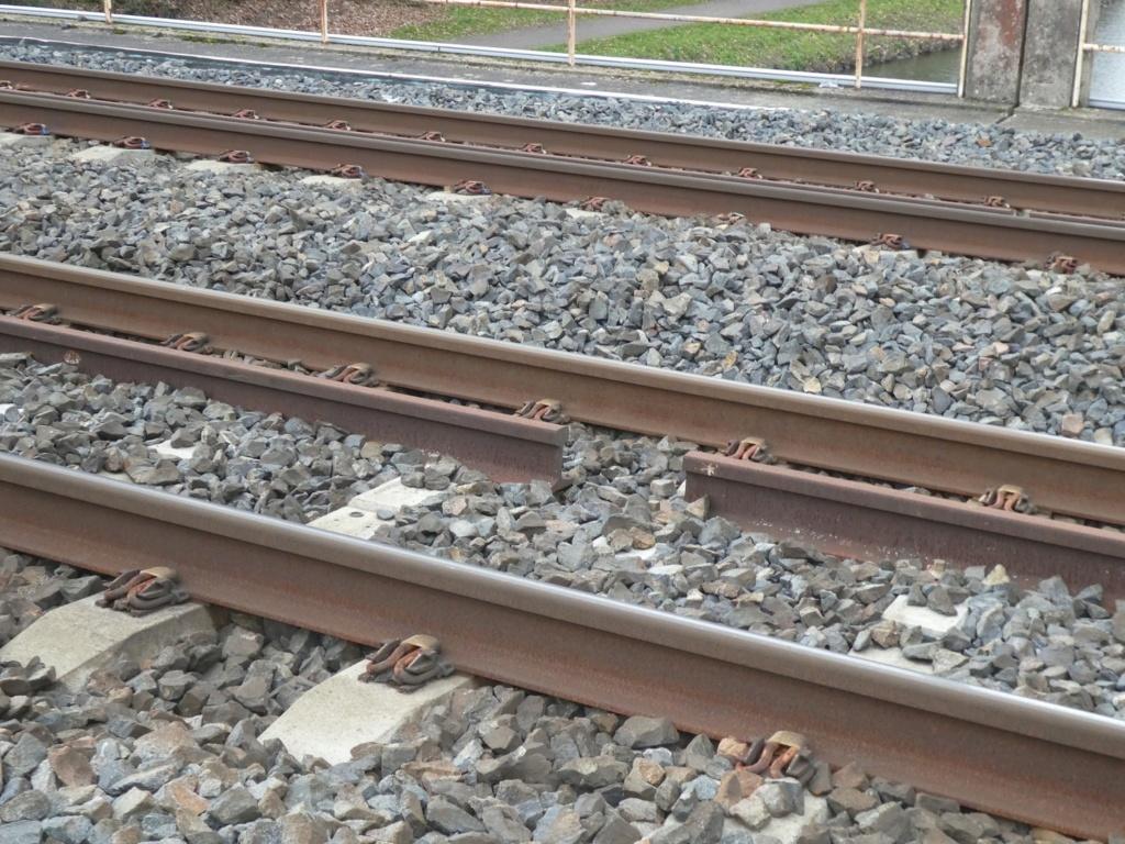Quimper-Landerneau. Attention aux trains qui préparent la reprise du trafic P1040210