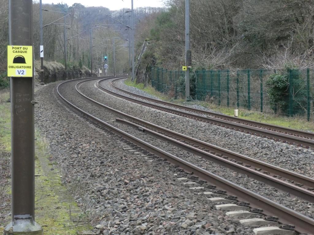 Quimper-Landerneau. Attention aux trains qui préparent la reprise du trafic P1040211
