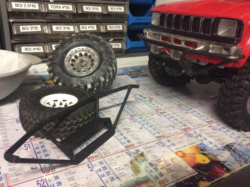 Fabrication home made de pièces à la soudure pour scale trial crawler et autres RC Image10