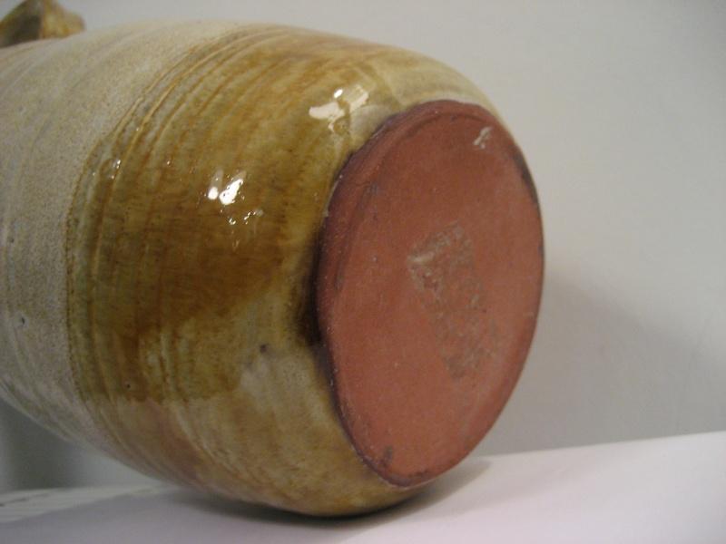 Tall Earthenware Vase  Img_2115