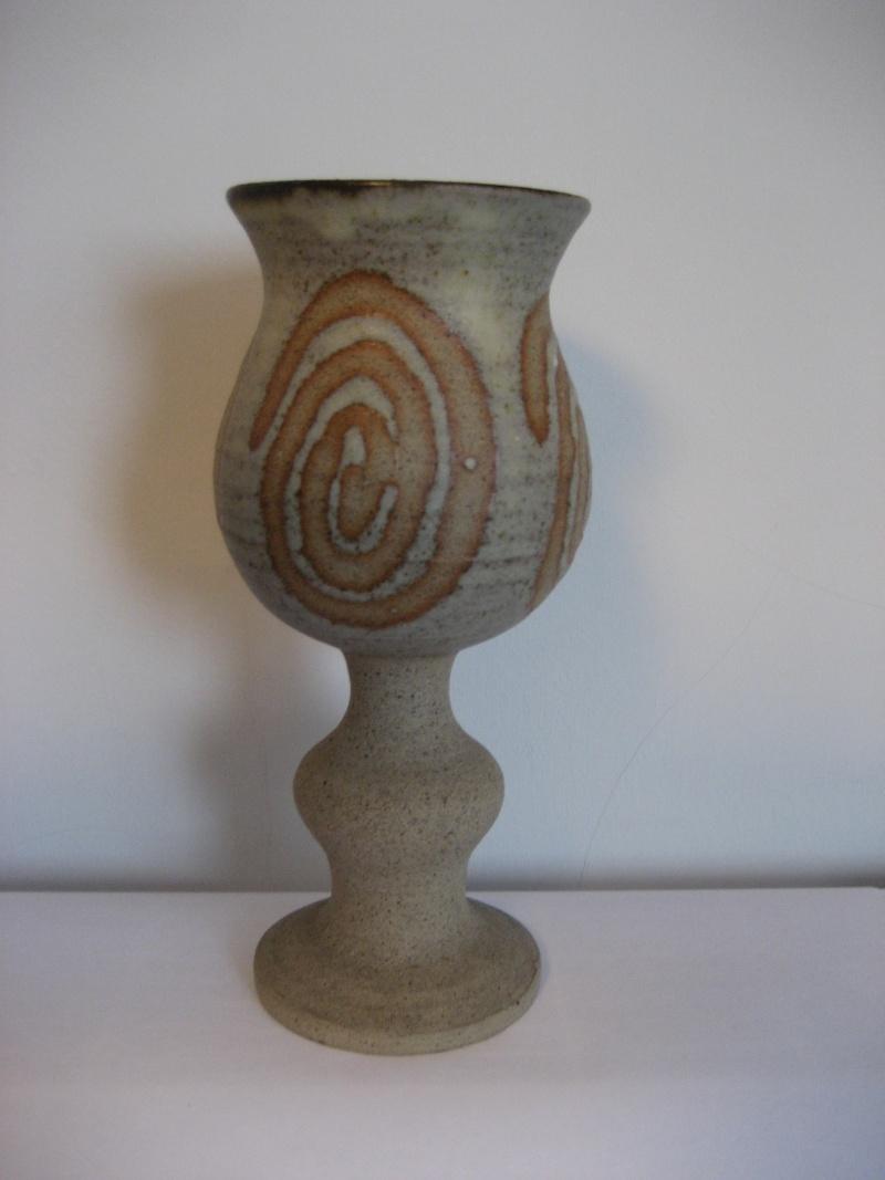 Stoneware Goblet Swirl Resist Design Mark AA? Img_2314