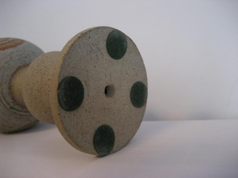 Stoneware Goblet Swirl Resist Design Mark AA? Img_2316
