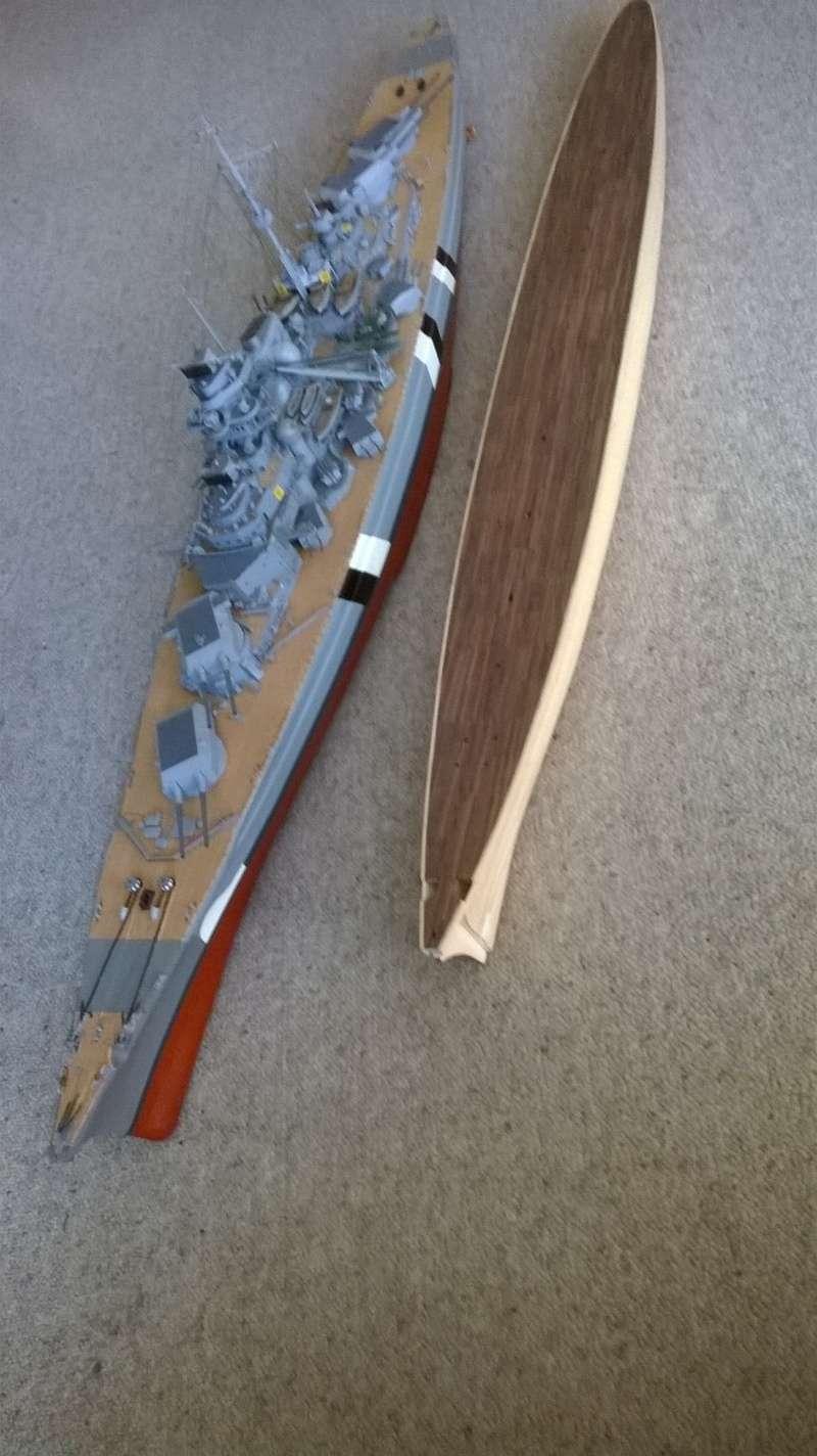 Fertig - Prinz Eugen 1:200 von Hachette gebaut von Maat Tom 4010