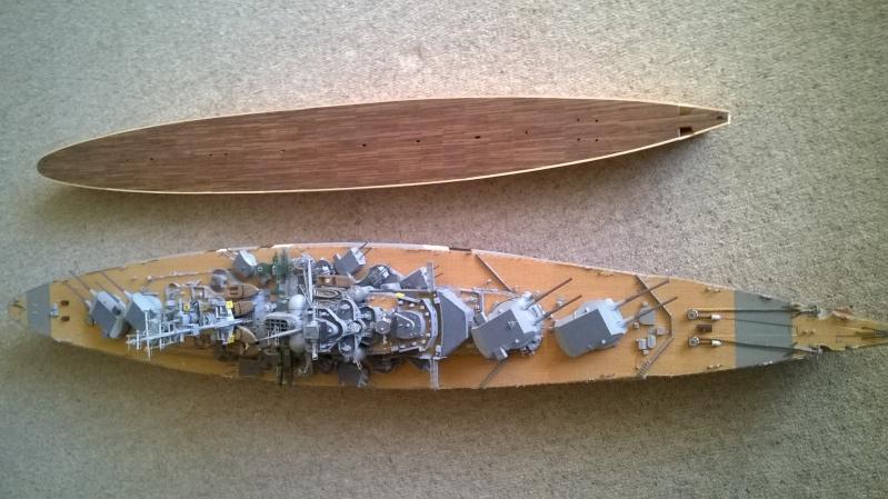Fertig - Prinz Eugen 1:200 von Hachette gebaut von Maat Tom 4110