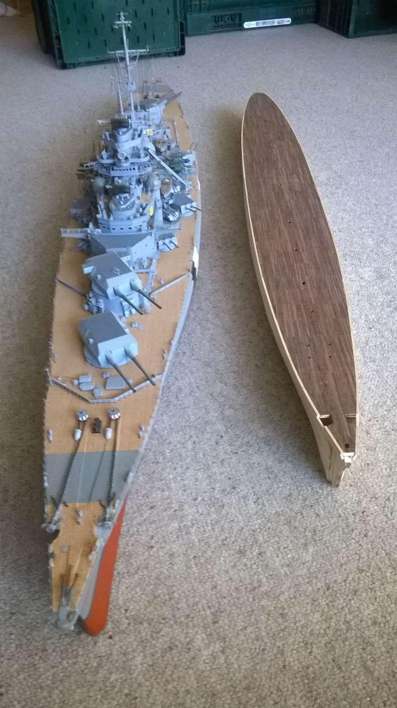 Fertig - Prinz Eugen 1:200 von Hachette gebaut von Maat Tom 4210