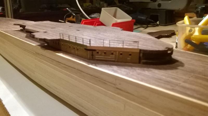 Fertig - Prinz Eugen 1:200 von Hachette gebaut von Maat Tom 5510