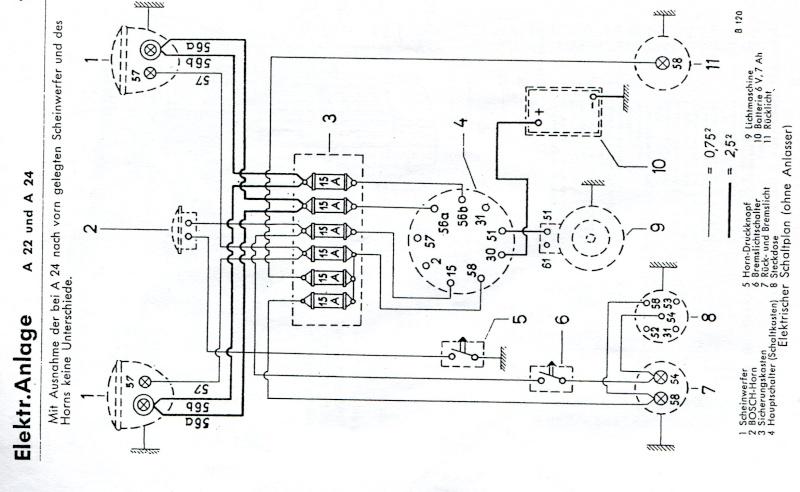 circuit  u00e9lectrique allgaier r22