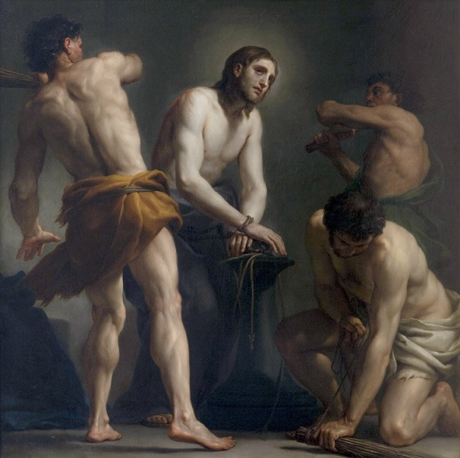 La Flagelación de Cristo-Anton Raphael Mengs 10010010