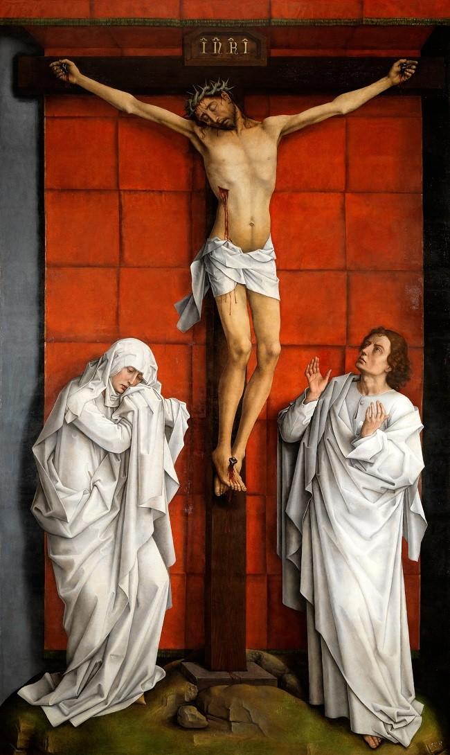 El Calvario-Rogier van der Weyden Tecnic10