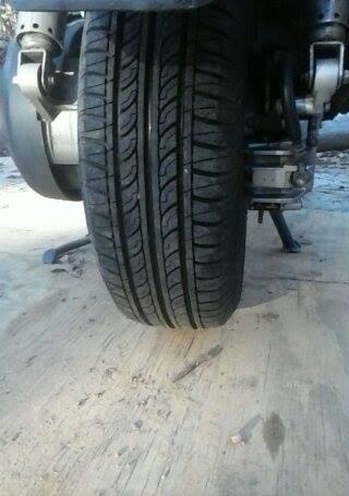 More Lights, Horn, Back Rest, Lug Box, Foot Rest, DS tire.  12226710