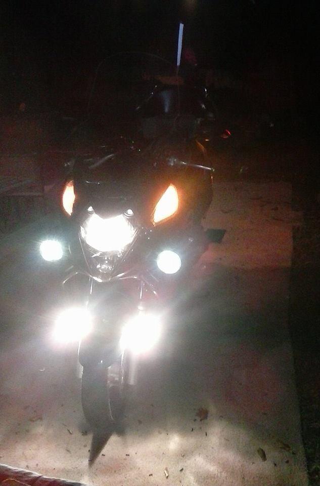 More Lights, Horn, Back Rest, Lug Box, Foot Rest, DS tire.  12231210
