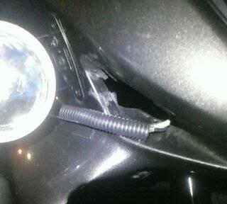 More Lights, Horn, Back Rest, Lug Box, Foot Rest, DS tire.  12272810
