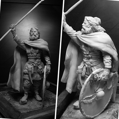 sculpture viking 75 mm Def10