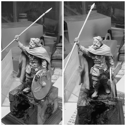 sculpture viking 75 mm Page110