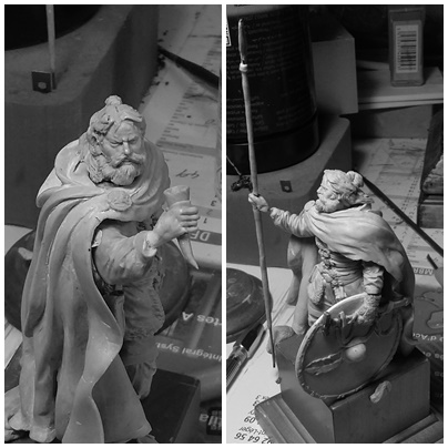 sculpture viking 75 mm Page311