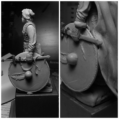 sculpture viking 75 mm Page611
