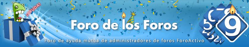 Mejor banner conmemorativo - Resultados Fdf10