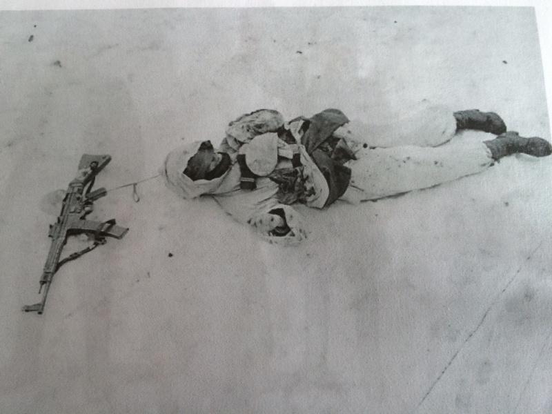 Jager de la Gebirgs-Rgt .136 Jebsheim février 1945 00210