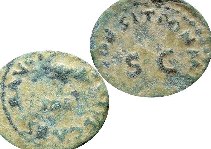 ID Claude (41 - 54 AD) - Quadrans - Rome RIC. 85 Caesar11
