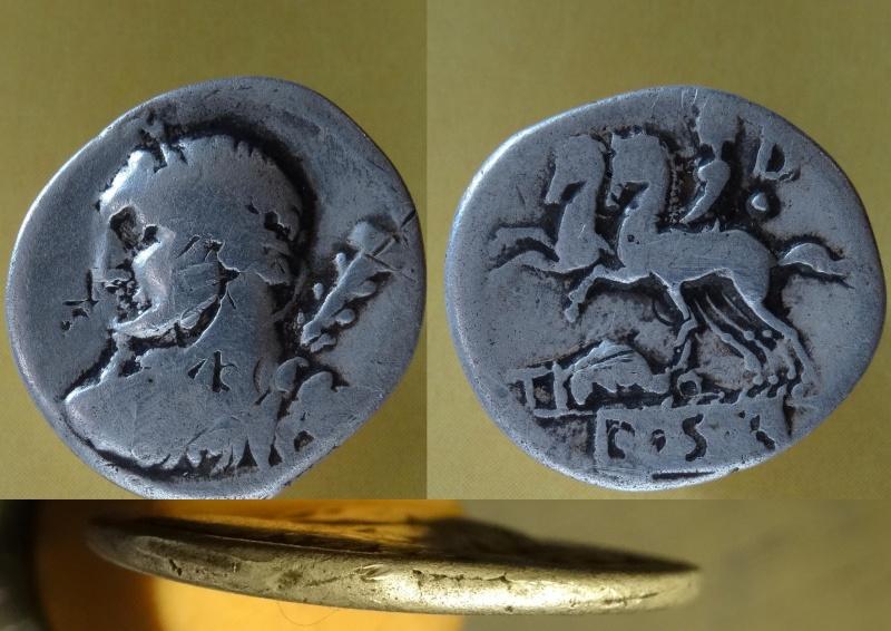Denier de la République / Ti. Quinctius 112 - 111 BC Hercul10