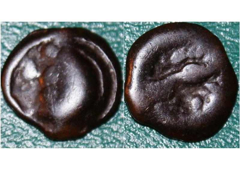 Éburovices (Région d'Évreux) Potin au sanglier enseigne - DT. 2480 Nouvea12