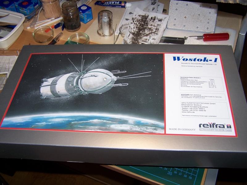 Bausatz Wostok 1 von Reifra 100_4813