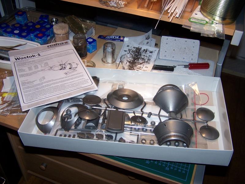 Bausatz Wostok 1 von Reifra 100_4814