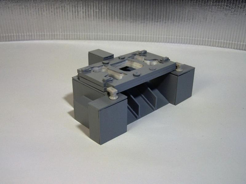 Raumtransportsystem Energija / Buran in 1:288 100_4941