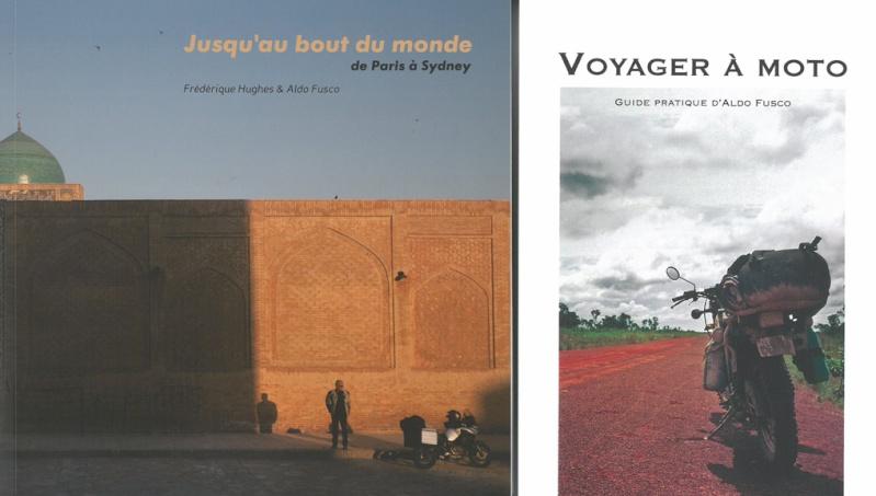 livres, voyages en XT Arton211