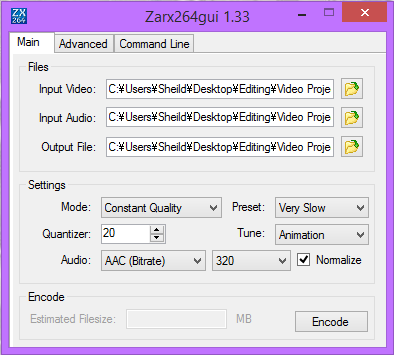[AMV Basics] How To Render And Encode Lossless AVI To MP4 (VEGAS PRO) 221afb10