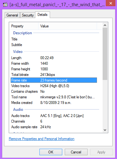 [AMV Basics] Some Minor FPS Talk (Disable Resample/Deinterlacing, 23fps & 29fps, VFR & Constant) 23dd0610