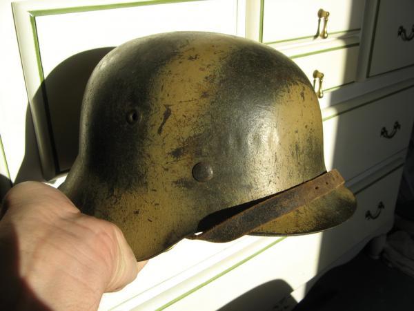 Avis sur ce casque allemand camouflé. - Page 2 35918511
