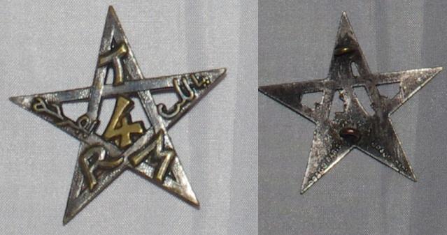 Insigne Infanterie métro, colonial, AFN, Génie trans  4rtm_v10