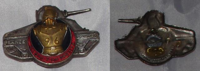 Insigne Infanterie métro, colonial, AFN, Génie trans  96bg_v10
