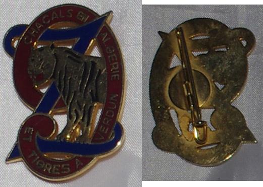 Insigne Infanterie métro, colonial, AFN, Génie trans  9rz_ve10
