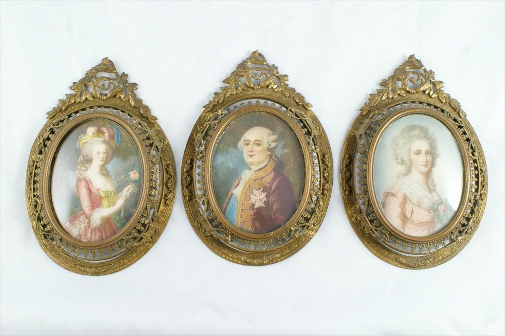 Miniatures représentant la famille royale 10422710