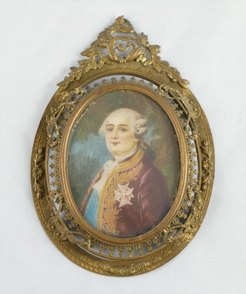 Miniatures représentant la famille royale 10422711