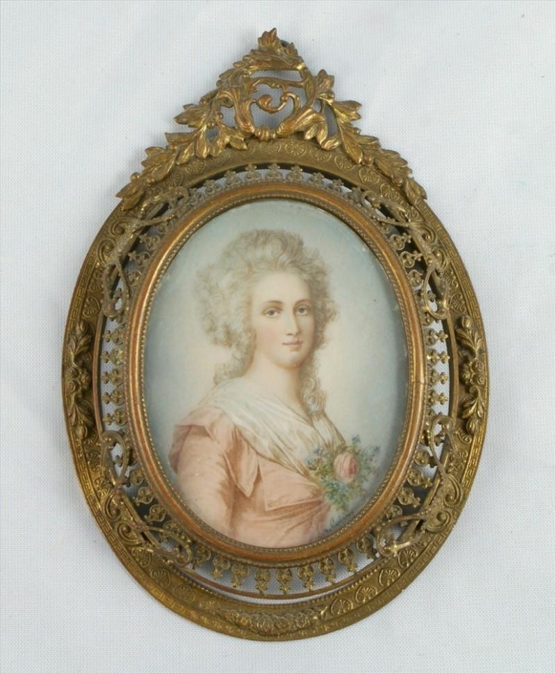 Miniatures représentant la famille royale 10422712