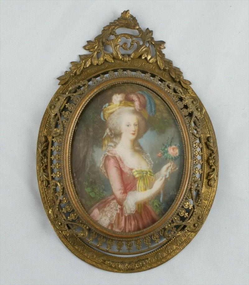 Miniatures représentant la famille royale 10422713