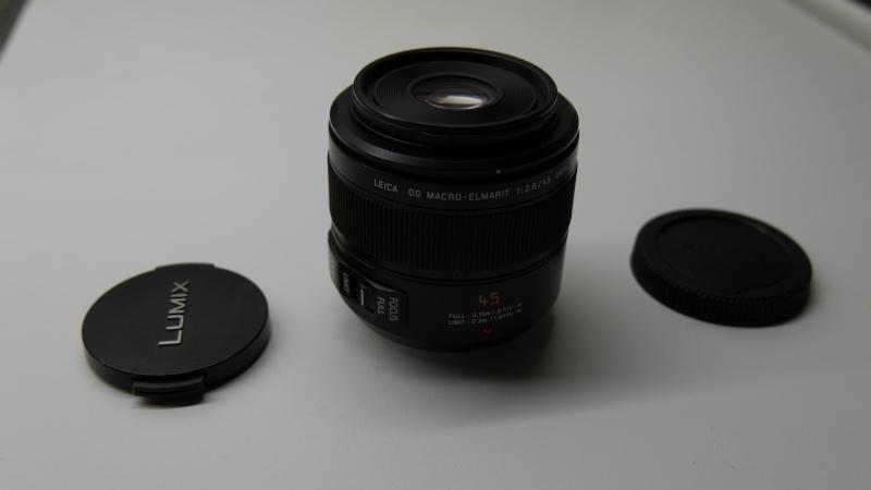 [VENDU] Objectif Pana Leica 45mm macro f/2.8 => 420€ P1070110
