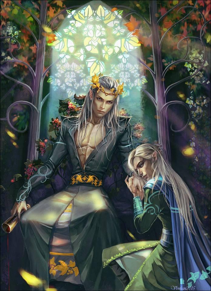 The Elvenking punishing The Prince! 12346511