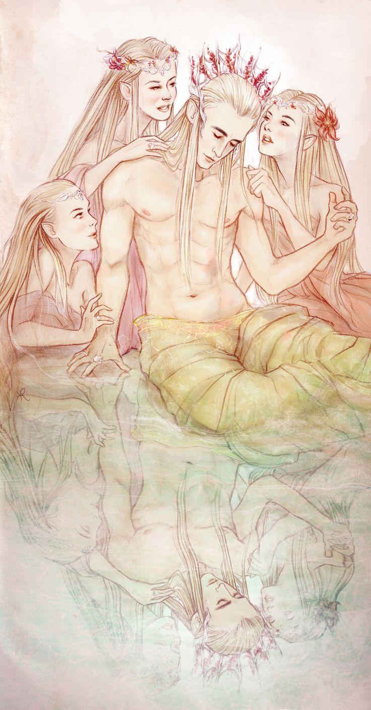 PlayElf magazine presents: The Erotic Thrandy's Bedroom Hymns...  D4358810