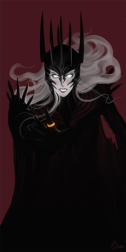 Hymn to Mordor Sauron12
