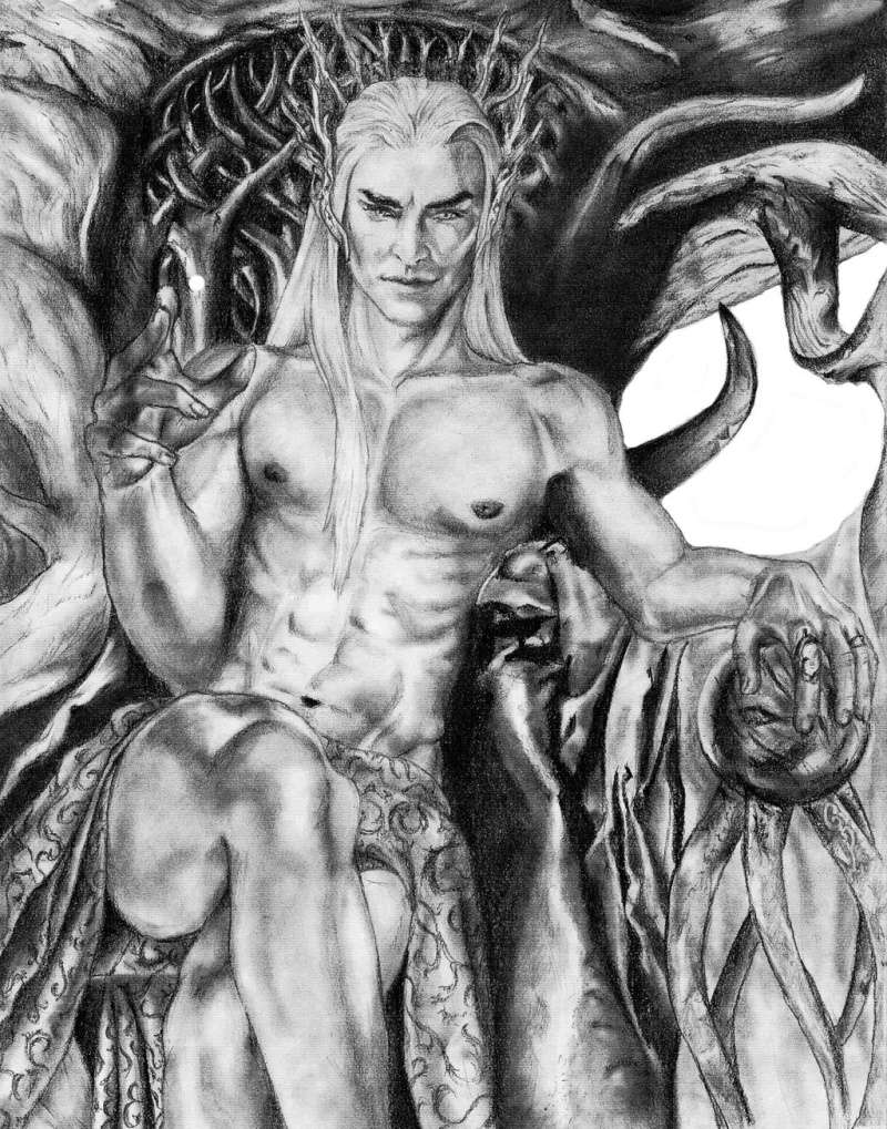 The Elvenking punishing The Prince! Thrand13