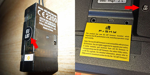 [EXPLICATIONS faciles] EU ou pas EU ? Impossible d'appairer un RX avec la radio Eulbt-10