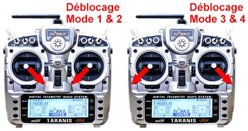 [MINI TUTO facile] Mise à jour d'une radio avec le dernier firmware 2.1.x et récupérer D8 & LR12 Manche10