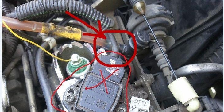 [ Renault Kangoo 1.9D an 1999 ] Fuite d'air circuit gasoil et ne démarre pas Kangoo10