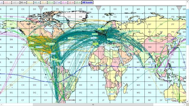Propagation DX et activité solaire en temps réel Captur10