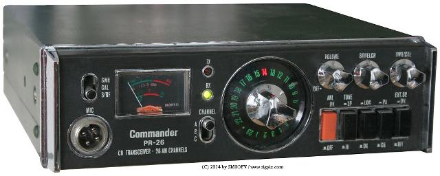 Commander PR-26 (Mobile) Comman10