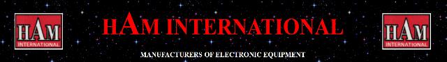hAm International - manufacturers of electronic equipment Ham-in10